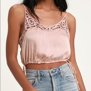 Free People Cropped Cami NWT